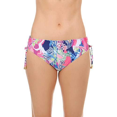 Maidenform Womens Bikini Swim Bottoms (Multi, X-Large)