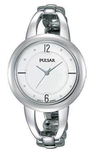 Pulsar PH8203X1 Horloge voor dames, analoog kwartshorloge met roestvrij staal