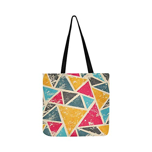 Grocery Cart Bags Colorful Fashion Art Beautiful Painting Canvas Bag For Boys Canvas Lunch Tote Bag For Shopping Groceries Books Best Reusable Grocery Bags