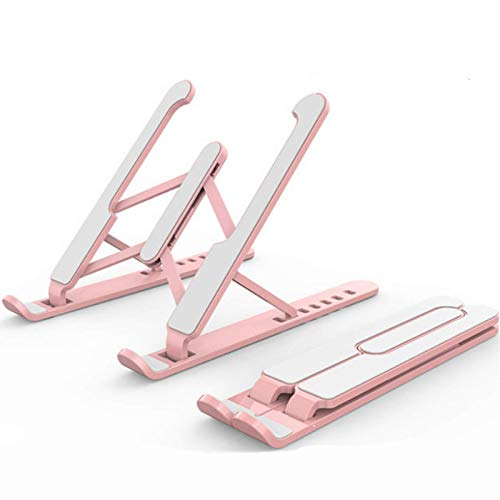 Laptop Computer Stand,Compatible with 10'' to 17'' Adjustable Laptop Stand,Portable Foldable Laptop Tablet Stand with,Nonslip Laptop Stand(3 Colors Available)