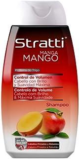 Stratti Mango - Champú Control de Volumen con Keratina sin Sal - 400 ml