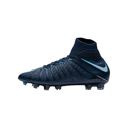 Nike - JR Hypervenom Phantom III DF FG - 882087414 - El Color Azul Marino - ES-Rozmiar: 36.5