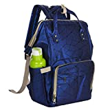 Diswa Diaper Bag Backpack Waterproof Large Capacity Insulation Travel Back Pack Nappy Bags