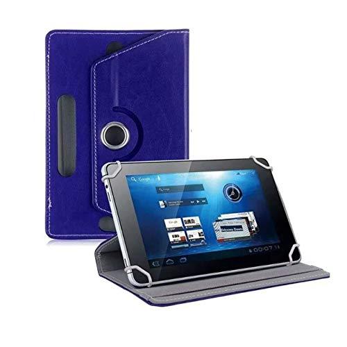 DBSUFV Estuche Plano Universal de 9 Pulgadas patrón de Cristal Estuche Protector Universal Estuche Universal de Cuero para Tableta