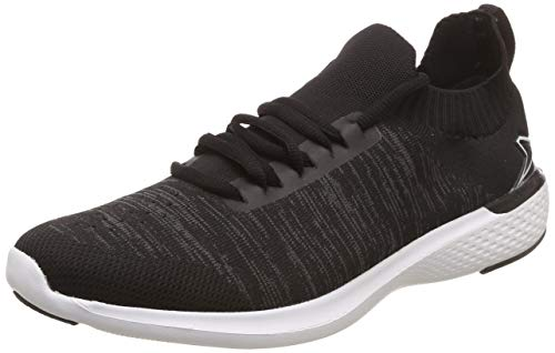 Power Men's Connect Grandeur Black and D.Grey Running Shoes-7 UK (41 EU) (8086276)