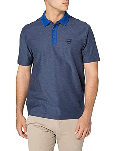 BOSS Herren Phony Polohemd, Medium Blue428, L