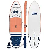 MOST POPULAR iSUP: The Pioneer is ISLE's most versatile board for all-around, top-rated fun. The stylish design makes this a great beginner paddleboard for adults and riders of all sizes who are looking for a versatile board. This shape is perfect fo...
