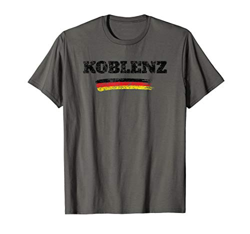 Koblenz Germany German Flag T-Shirt