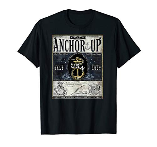 Navy Chief Petty Officer Heritage Anchor Up CPO Pride Shirt