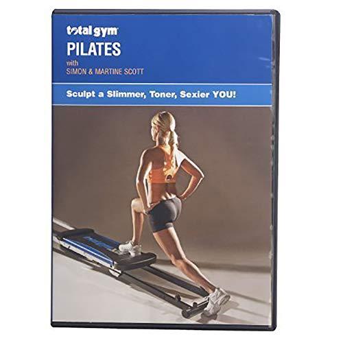 Total Gym DVDPL Men/Women Professional Tone & Tighten Home Pilates Workout Video with Simon and Martine Scott