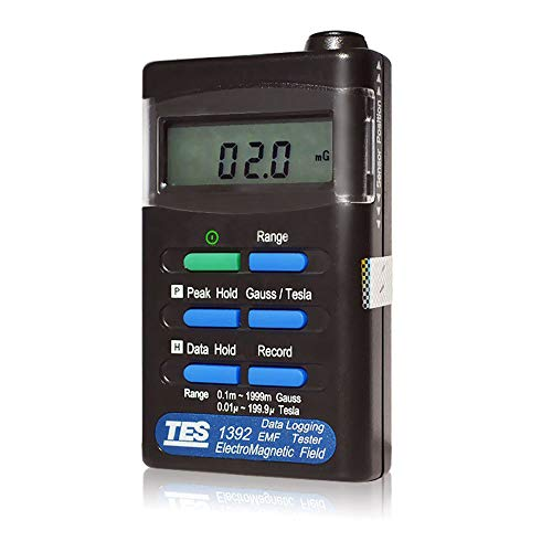 tes1392messdatenerfassung tes-1392Strahlung Tester EMF Tester Gauss elektromagnetischen Feldes Meter