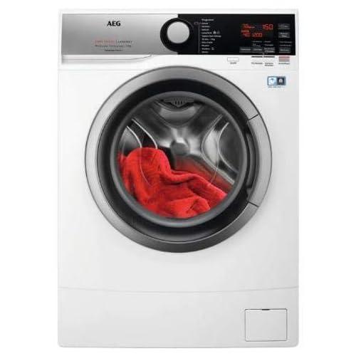 AEG L6SE74B lavatrice Libera installazione Caricamento frontale Bianco 7 kg 1400 Giri/min A+++