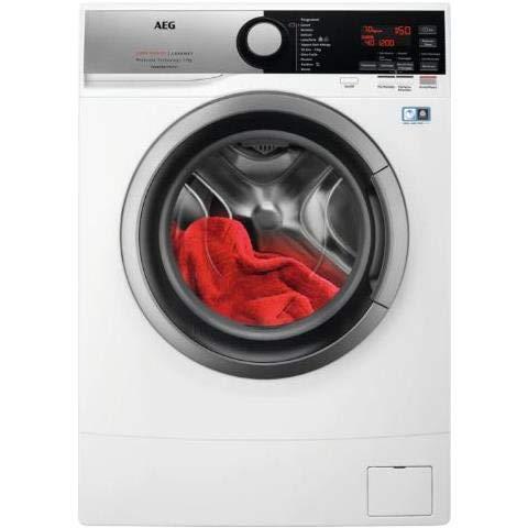 AEG L6SE74B lavatrice Libera installazione Caricamento frontale Bianco 7 kg 1400 Giri min A+++