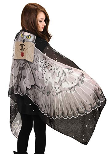 elope Harry Potter Hedwig Light Wing Scarf for Women