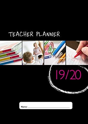 School Planner Company - Agenda planner non rilegata per insegnanti, diverse misure, con piano delle lezioni (lingua italiana non garantita) A5 – 6 Period – 2019-2020
