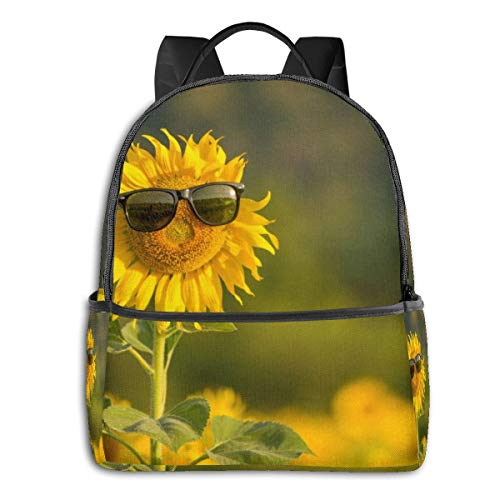 Sunflower Butter-Fly - Mochila de Ciclismo para niños y niñas (Alta Capacidad,...
