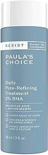 Paula's Choice Resist Anti-Aging 2% BHA Exfoliant - Gaat Puistjes, Mee-eters & Grove Poriën tegen - Kalmeert de Huid - met...