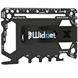 Multi purpose survival Pocket tool - 43 in 1 - credit card wallet size Ninja Multitool With Money Clip (Black)