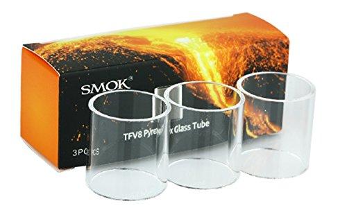 Smok TFV8 Big Baby Beast Ersatzglas 5,0 ml, 3 er Set