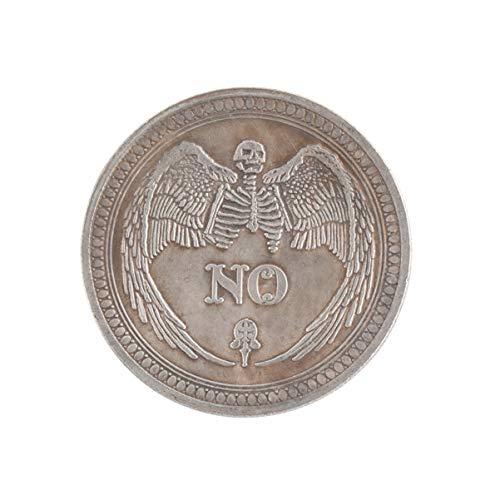 CLISPEED Moneda Conmemorativa Si O No Decisión Desafío Antiguo Colección de Monedas Recuerdo de Arte Juguete Creativo para Regalo