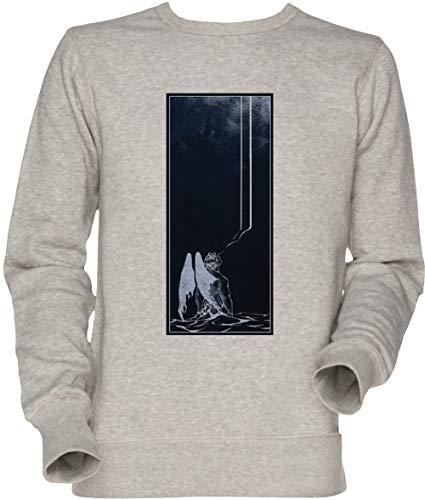 Vendax Arte tu Quella traditore Angelo - Il Devils Festa Unisex Uomo Donna Felpa Maglione Grigio Men's Women's Jumper Sweatshirt Grey