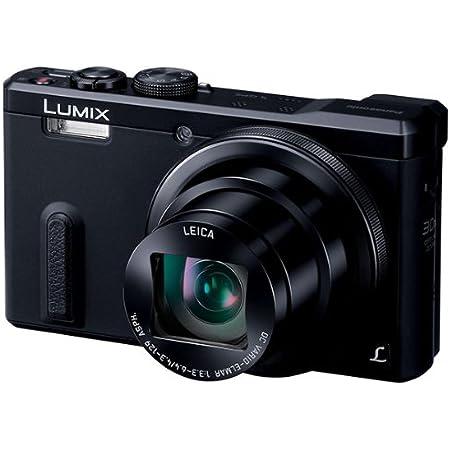 パナソニック デジタルカメラ ルミックス TZ60 光学30倍 ブラック DMC-TZ60-K