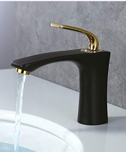 G0000D - Grifo de lavabo para lavabo de baño de acero inoxidable 304 grifo de agua grifo grifo grifo grifo de fregadero grifo mezclador monomando caliente y frío de una sola palanca== Calidad superior y envío gratis