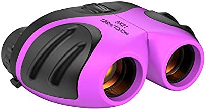 Gifts Girl Age 3-12, Compact Binocular for Kids Toys for 3-12 Year Old Girls Boys 2019 New Gifts for 3-12 Year Old Boys Stocking Fillers Purple TGUS006