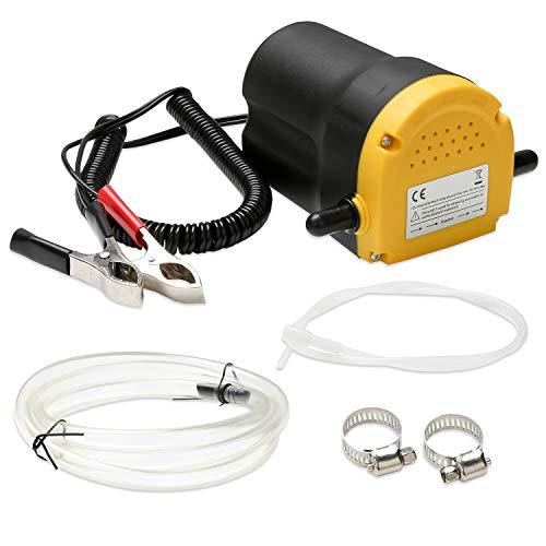 Valleitia Ölabsaugpumpe 12V 60 Watt Absaugpumpe 4l/min Ölpumpe Pumpe Hohe Qualität Dieselpumpe Öl Elektrisch