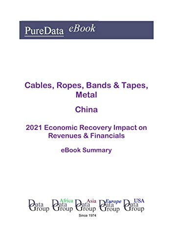 Cables, Ropes, Bands & Tapes, Metal China Summary: 2021 Economic Recovery Impact on Revenues & Financials (English Edition)