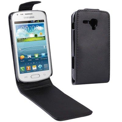 YUNCHAO Funda Protectora Funda de Cuero con Tapa Vertical for Samsung Galaxy Trend Duos / S7562 Caja del teléfono Celular