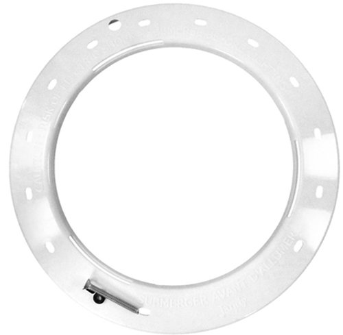 Zodiac R0450802 White Plastic Face Ring Replacement for Select Zodiac Jandy Pool Lighting System