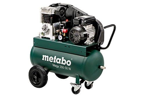 Metabo Kompressor Mega Mega 350-50 W (601589000) Karton, Ansaugleistung: 320 l/min, Füllleistung: 250 l/min, Effektive Liefermenge (bei 80{090ba89f172c3eebc82d01f79c69ecdd09b5f24edd390519437ecc7af17c4ddc} max. Druck): 220 l/min
