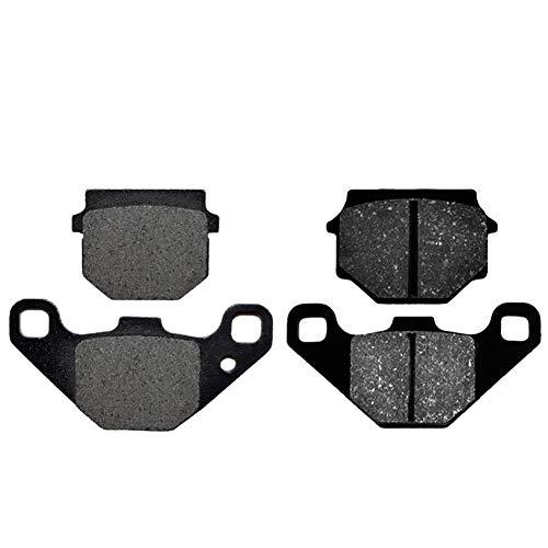 AHL 2 Paar Bremsbeläge kit für Kawasaki KMX 125 A1-A5/B1-B9 1986-1998 / Kawasaki KMX 200 A2/A3 1988-1992