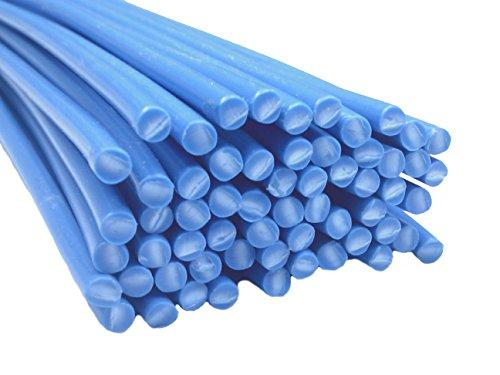 Alambre de soldadura de plástico PP 4mm Redondo Azul 25 barra