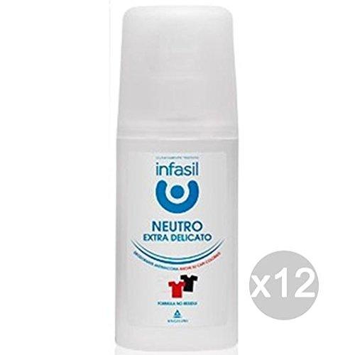 Lot 12 Infasil Déodorant Spray 70 ml Extra Sensible Soin et hygiène du corps