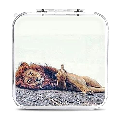 Switch Game Card Case Fuck Gesture Lion Lying Game...