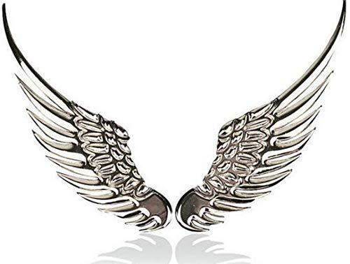 Shop of Wonder© │ 3D Engelsflügel │ Ein wundervolles Paar Flügel für Ihr Auto oder Motorrad │ die ausdrucksstarken silbernen Flügel passen optimal zu jeder Lackfarebe │ Ihr Schutzengel ist immer dabei