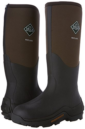Muck Boots Wetland's Men, Bottes & Bottines de Pluie Mixte Adulte, Marron (Tan/Bark), 38 EU
