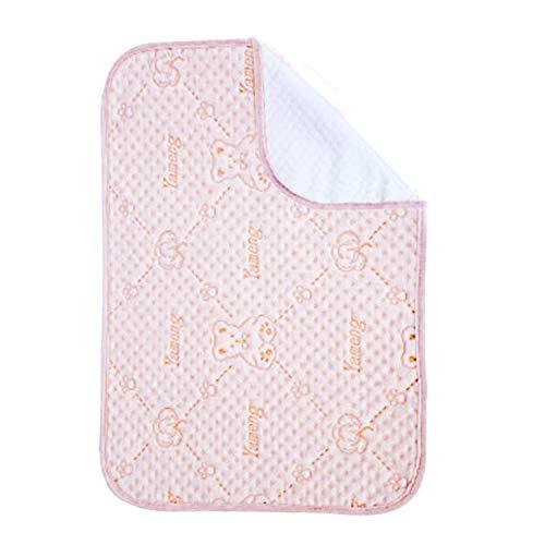 Protector de colchón impermeable para cuna de bebé, lavable para incontinencia, colchón, protector de colchón impermeable para bebés y adultos o mascotas de entrenamiento 70 x 120 cm