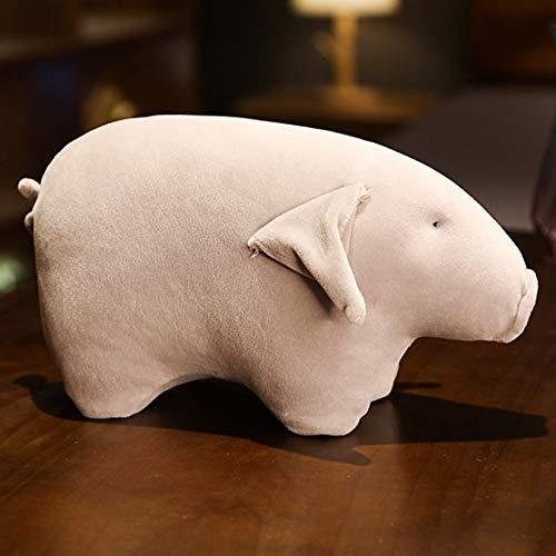 Cerdito de peluche de juguete suave relleno de dibujos animados Animal cerdo muñeca decoración del hogar almohada fresca novias regalo de cumpleaños juguetes de acompañamiento 40Cm