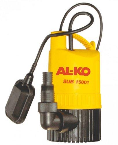 AL-KO 112378 Klarwassertauchpumpe SUB 15001, Edelstahl-Laufwelle