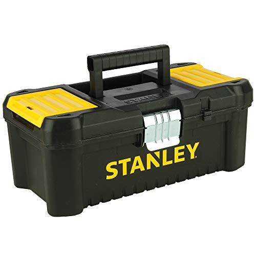 STANLEY STST1-75515 - Caja de herramientas de plastico con cierre metálico, 18 x 13 x 32.5 cm