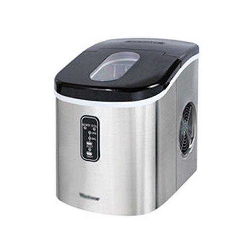 NAN Eismaschine für den Hausgebrauch Macht Kugel rund EIS in 8 Minuten | Große Kapazität 16kg 2.2L Eismaschine (Farbe : Blue)