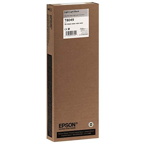Epson T804900 - Cartucho de tinta para impresoras (Negro, SureColor SC-P6000 STD, SureColor SC-P6000...