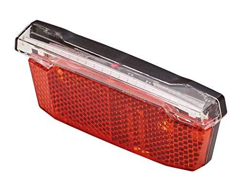 Prophete Unisex– Erwachsene Rücklicht mit COB-LED und Bremslichtfunktion, rot, One Size