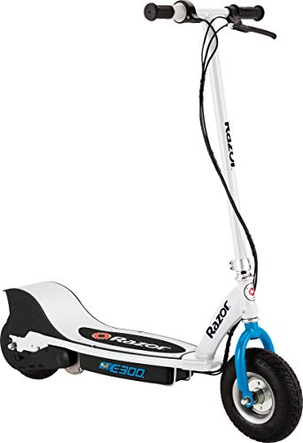 Razor E300 Electric Scooter - White/Blue - FFP