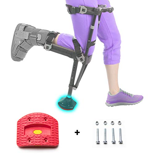 iWALK2.0 Hands Free Crutch - Alternative to Crutches and Knee Scooters - Factory Replacement Tread