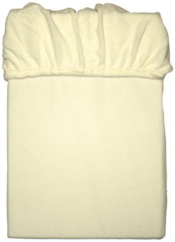 Mesana C-10001/23 Lenzuolo in Microfibra di Pile con Angoli Elasticizzati, Beige, 90-100 x 200 cm