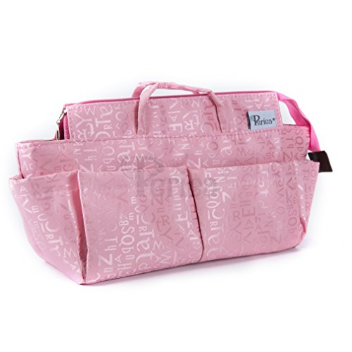 Periea Handtaschen-Organiser, 12 Fächer - Keriea (Rosa)